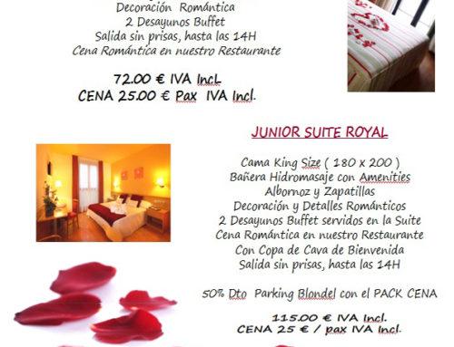Hotel en Lleida prepara apasionado San Valentín